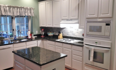 White Paint Cabinets